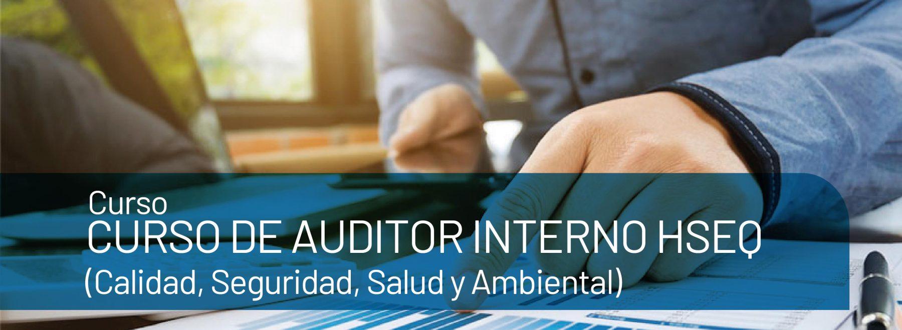 Curso de auditor interno HSEQ